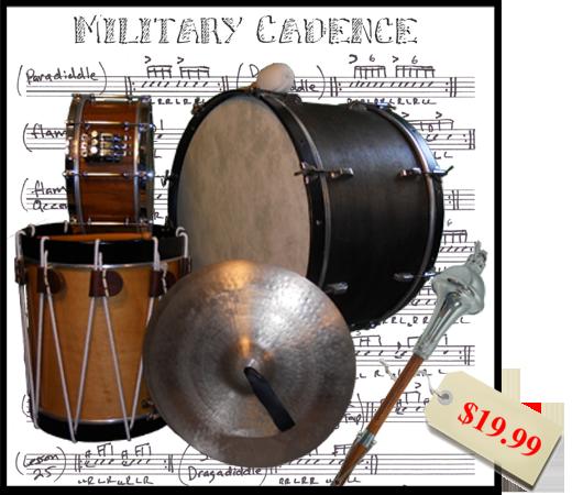 Platinum Samples - Military Cadence MIDI Groove Library