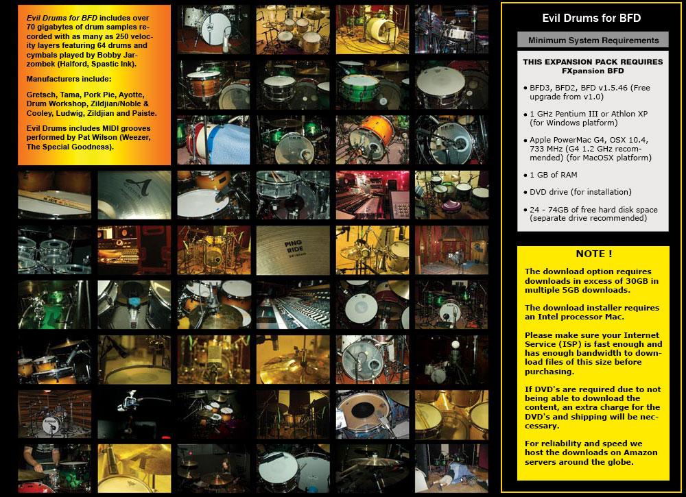 Platinum Samples - Joe Barresi Evil Drums