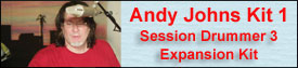 Andy Johns Session Drummer 3 Kit 1