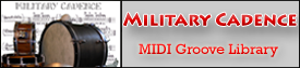 Military Cadence MIDI Groove Library
