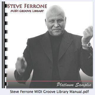Platinum Samples - Steve Ferrone Multi-Format MIDI Groove Library